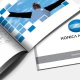 Referenzen Werbeagentur hanner inc. Konica Minolta Folder