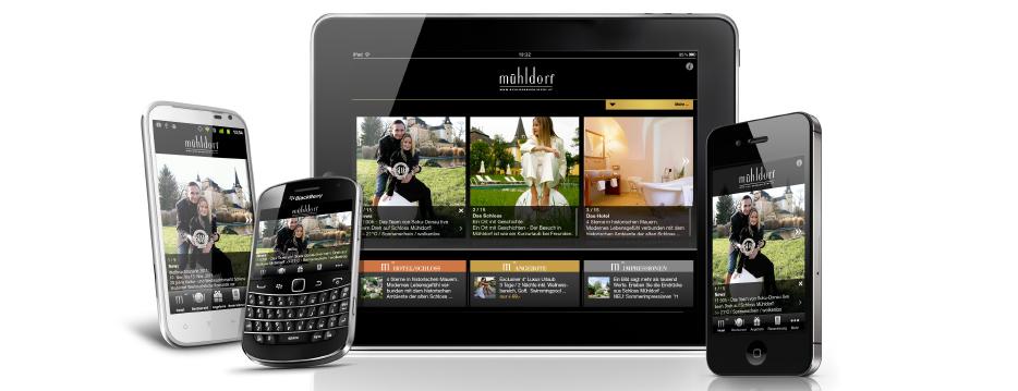 Referenzen Werbeagentur hanner inc. Online und Mobile Hotel Schloss Mühldorf Feldkirchen Walding