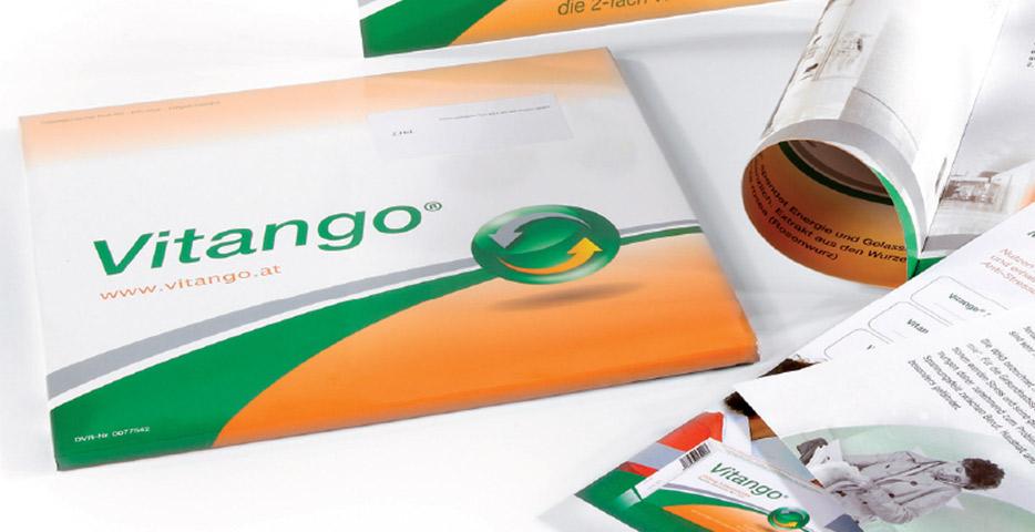 Referenzen Werbeagentur hanner inc. Grafik und Design VITANGO ®