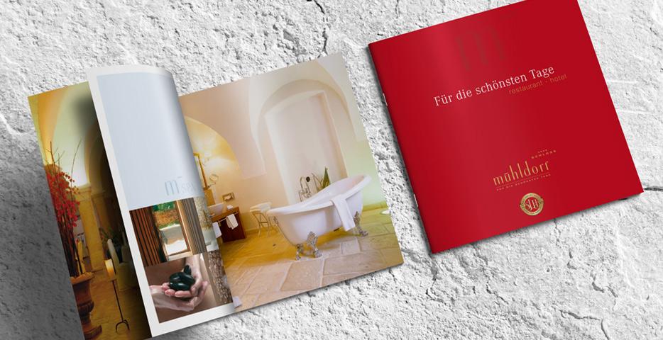 Referenzen Werbeagentur hanner inc. Grafik und Design Hotel Schloss Mühldorf****