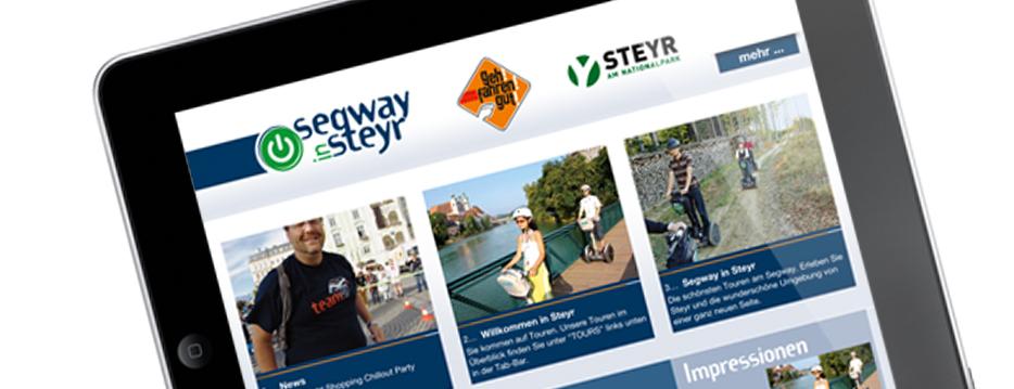 Referenzen Werbeagentur hanner inc. Online und Mobile segway