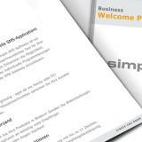 Referenzen Werbeagentur hanner inc. Grafik und Design Simple SMS