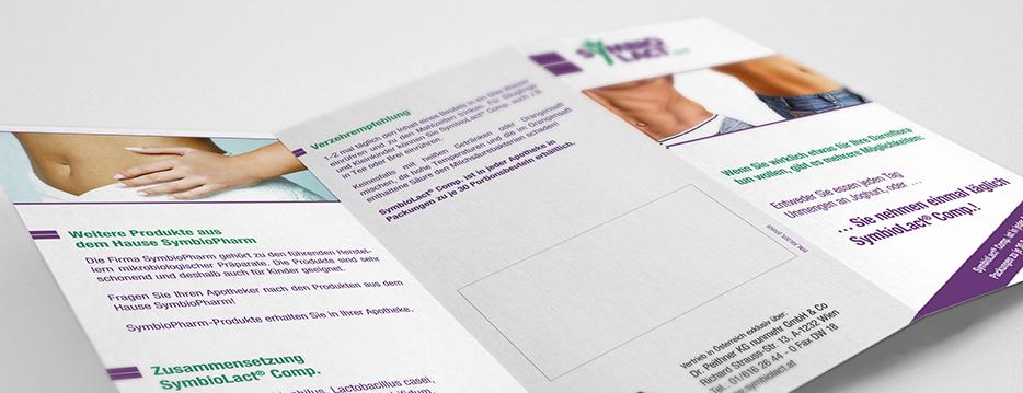 Referenzen Werbeagentur hanner inc. Grafik und Design Symbio Lact