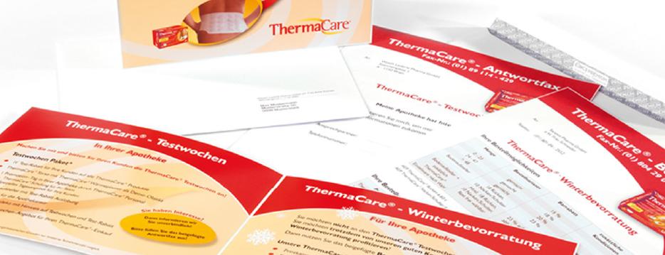 Referenzen Werbeagentur hanner inc. Grafik und Design ThermaCare