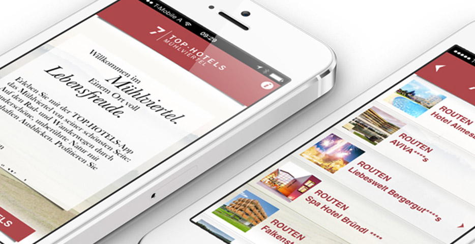 Referenzen Werbeagentur hanner inc. Online und Mobile Tophotels