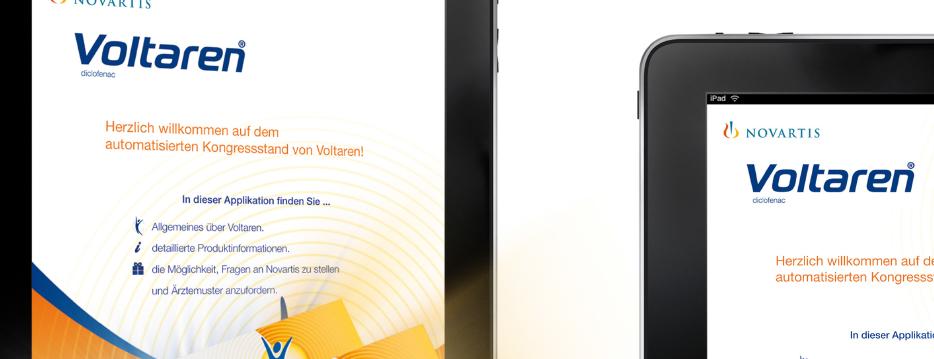Referenzen Werbeagentur hanner inc. Online und Mobile Voltaren