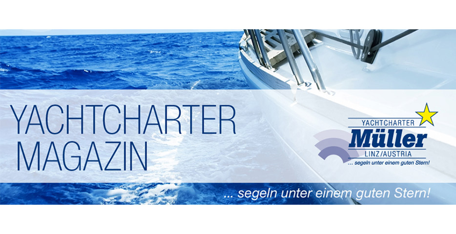 Referenzen Werbeagentur hanner inc. Grafik und Design Yachtcharter Müller