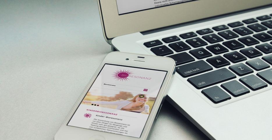 Referenzen Werbeagentur hanner inc. Online und Mobile Bioresonanz Walding