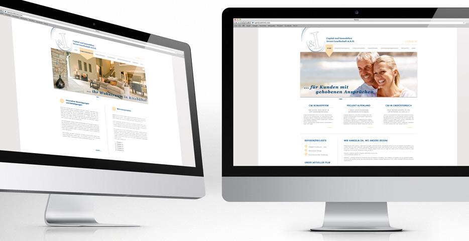 Referenzen Werbeagentur hanner inc. Wordpress Website C&I