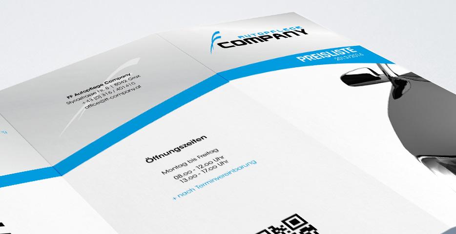 Referenzen Werbeagentur hanner inc. Grafik und Design FF Autopflege Company