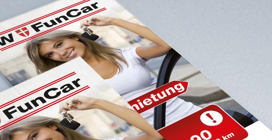 Referenzen Werbeagentur hanner inc. Grafik und Design FunCar