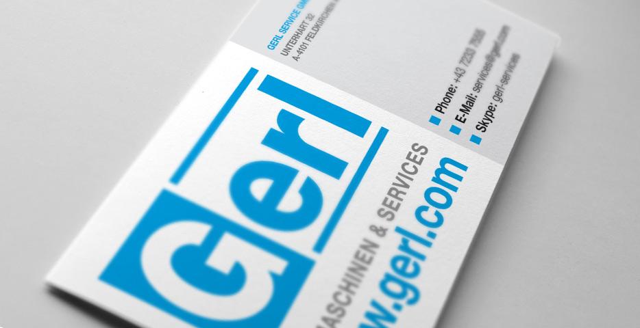 Referenzen Werbeagentur hanner inc. Grafik und Design Gerl Baumaschinen