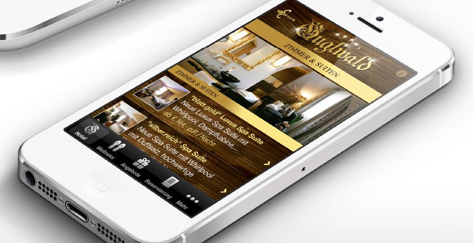 Referenzen Werbeagentur hanner inc. Online und Mobile Hotel Guglwald****s