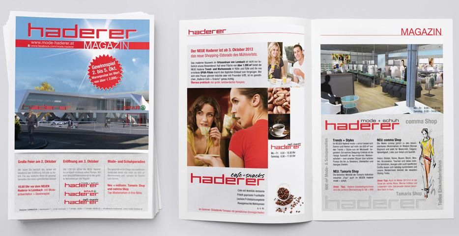 Referenzen Werbeagentur hanner inc. Grafik und Design haderer