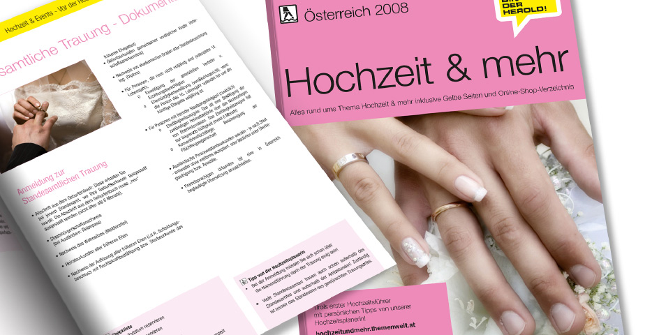 Referenzen Werbeagentur hanner inc. Grafik und Design Herold