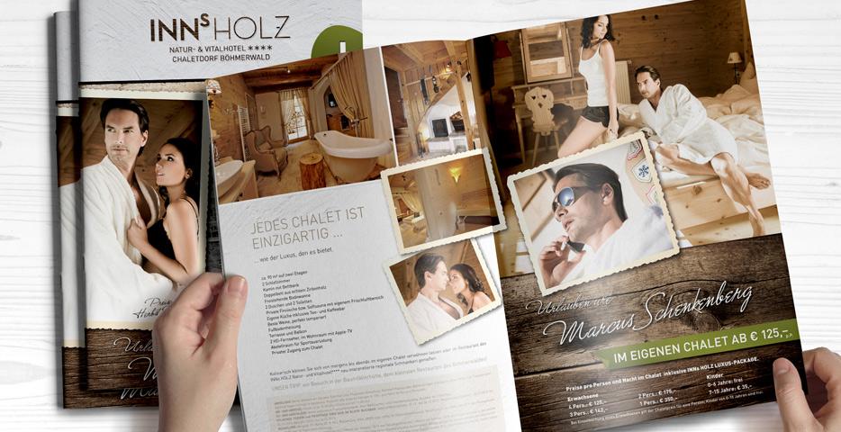 Referenzen Werbeagentur hanner inc.Grafik und Design Inns Holz