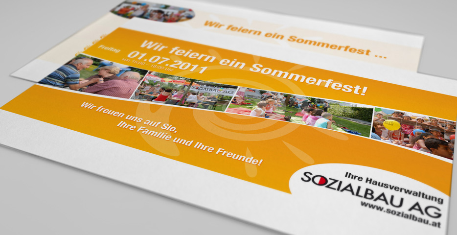 Referenzen Werbeagentur hanner inc. Grafik und Design Sozialbau AG