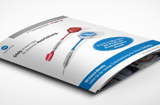Grafik und Design Werbeagentur Linz hanner inc. Konica Minolta