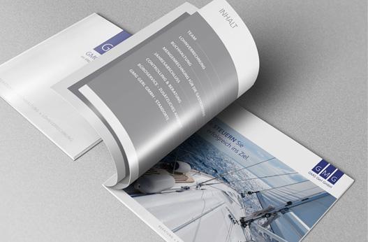 Grafik und Design Werbeagentur Linz hanner inc. GMG Gerl Steuerkanzlei
