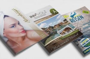Grafik und Design Werbeagentur Kataloge, Broschüren, Prospekte