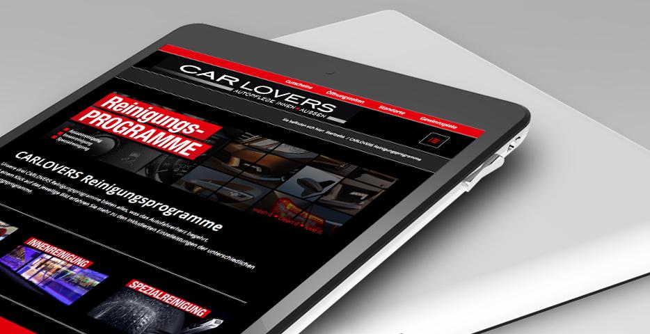 Online und Mobile Werbeagentur hanner inc. CARLOVERS