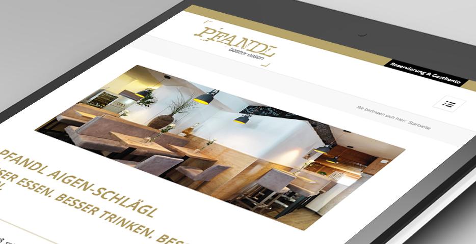 Online und Mobile Werbeagentur hanner inc. PFANDL