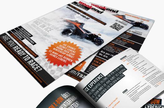 Grafik und Design Werbeagentur Linz hanner inc. weekend