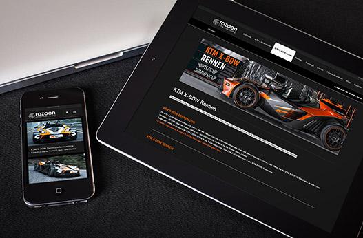 WordPress Websites Werbeagentur Linz hanner inc KTM xBow