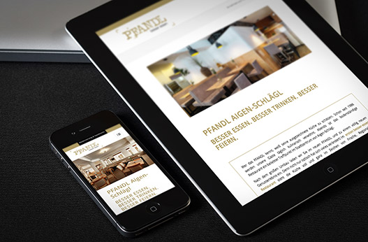 WordPress Websites Werbeagentur Linz hanner inc. Pfandl