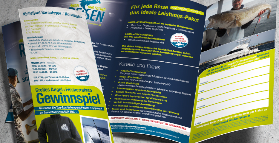 Referenzen Werbeagentur hanner inc. Angel- und Fischerreisen