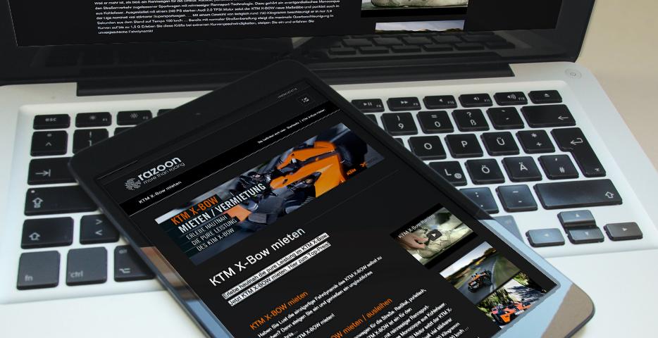 Referenzen Werbeagentur hanner inc. KTM X-BOW
