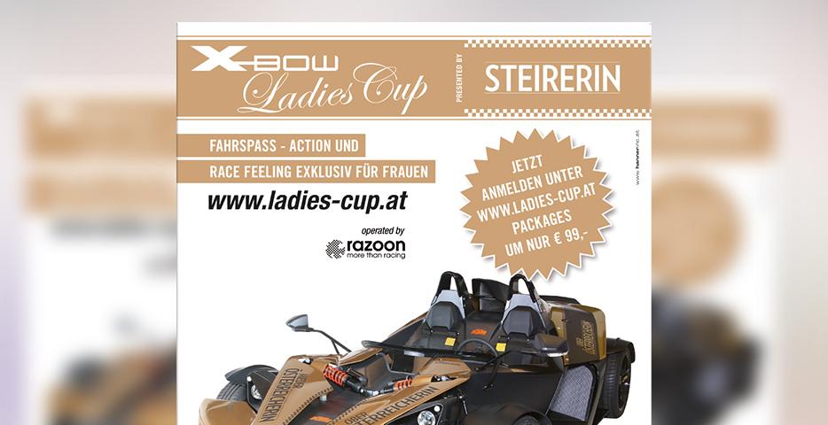 Referenzen Werbeagentur hanner inc. Ladiescup