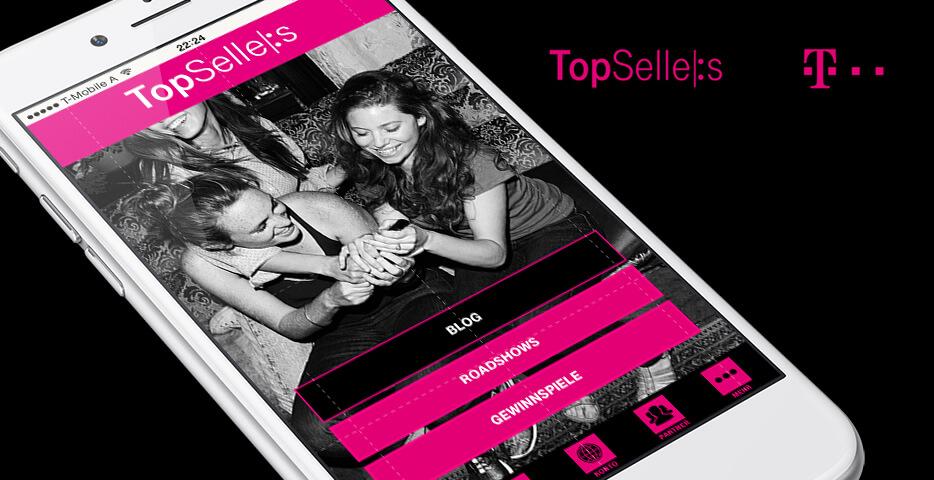 T Mobile App, Werbeagentur Linz - Online Agentur hanner