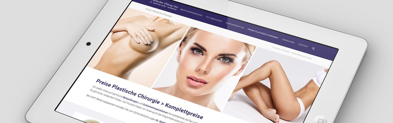 Online Agentur Linz, Onlineagentur Linz, Suchmaschinenoptimierung, SEO, SEM, Social Media Agentur. Plastischer Chirurg Werbeagentur