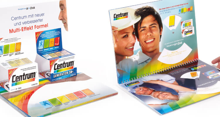 CENTRUM Vitamin Tabletten - Von A bis Zink, Werbeagentur hanner inc. GmbH Österreich, Linz