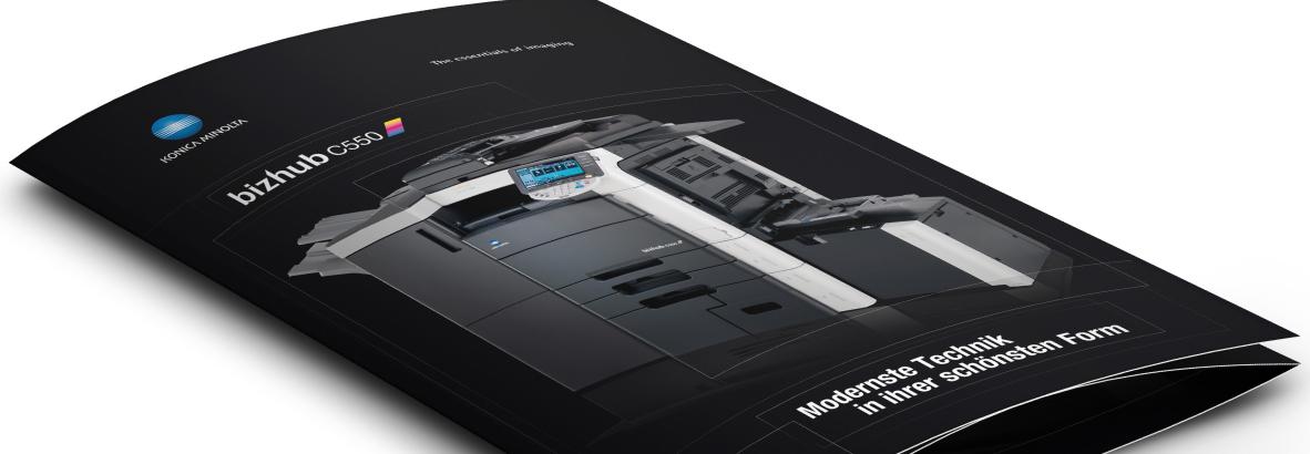 Konica Minolta von der Werbeagentur Linz, hannerinc. GmbH. Onlineagentur, Grafikagentur, Full Service Agentur