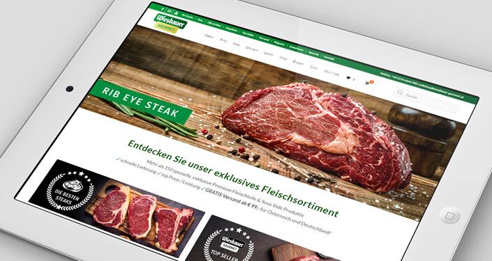 Online Shop Linz Wiesbauer. Internetagentur Linz, Webdesign Linz, Werbung Linz, SEO Linz, SEM Linz. Google Shopping Agentur Linz