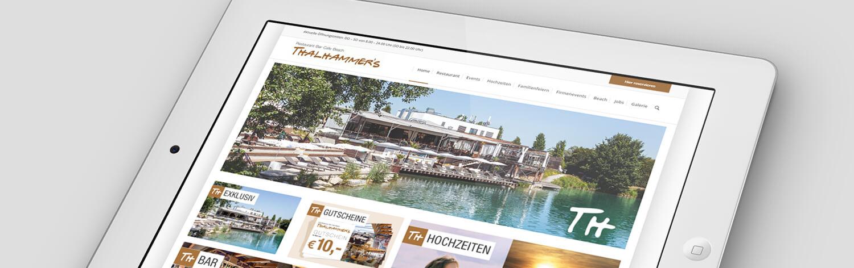Wordpress Website Thalhammers. Wordpress Webseite Thalhammers.