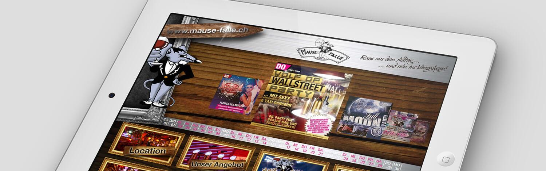 Wordpress Website Mausefalle Schweiz Webdesign Linz, Programmierung CMS