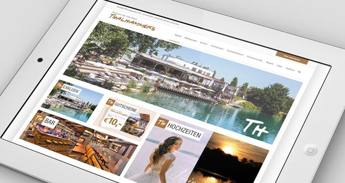 Wordpress Websites Thalhammers. Werbeagentur thalhammers Webseite