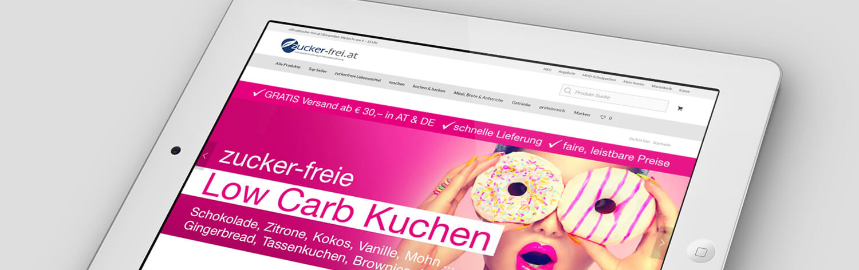 Wordpress Website Zuckerfrei. Webdesign, Conversion Optimierung, Suchmaschinen Optimierung, Werbung Google Adwords, Google Shopping, Social Media Marketing